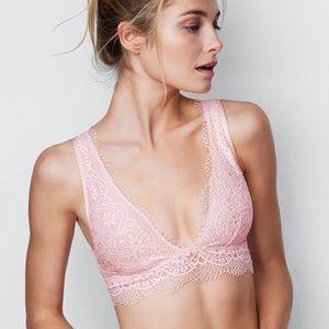 [Victoria's Secret] Long Line Plunge Bralette